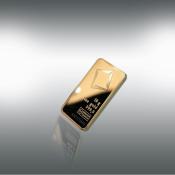 24 kt-guldbarre -10 g.