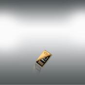 24 kt-guldbarre -1 g.