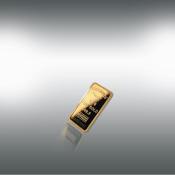 24 kt-guldbarre -2,5 g.