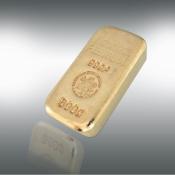24 kt-guldbarre -500 g.