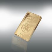 24 kt-guldbarre -50 g.